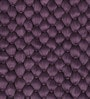 SWHF Purple Cotton 30 x 20 Inch Bubble Rug
