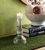 SWHF Transparent Glass Candle Holder