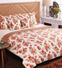 SWHF White Cotton Queen Size Comforter - Set of 5
