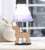 Blue Paper Puppy Table Lamp
