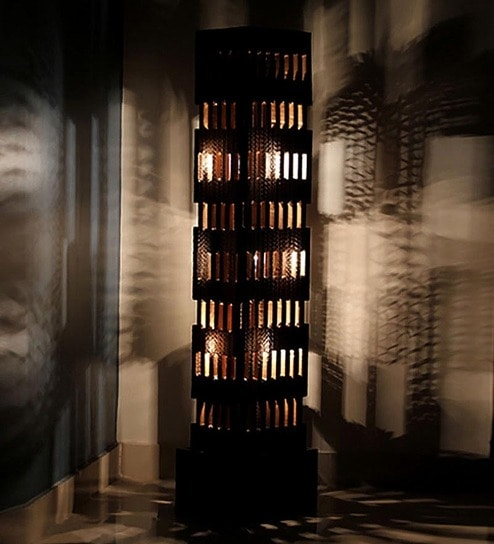 Black Sierra Floor Lamp By Sylvn Studio