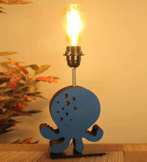 Buy Blue Glass Octopus Table Lamp by Sylvn Studio Online ...