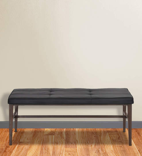 Buy Symphony Two Seater Dining Bench in Brown Colour by Home