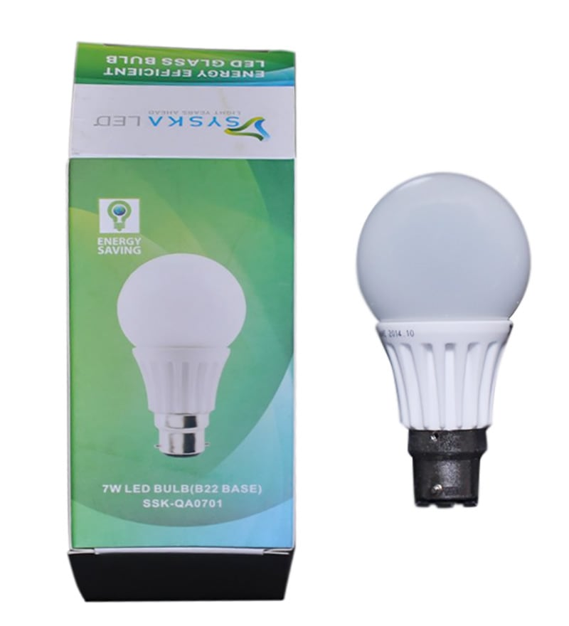 Syska 7w Led Bulb By Syska Online Led Bulbs