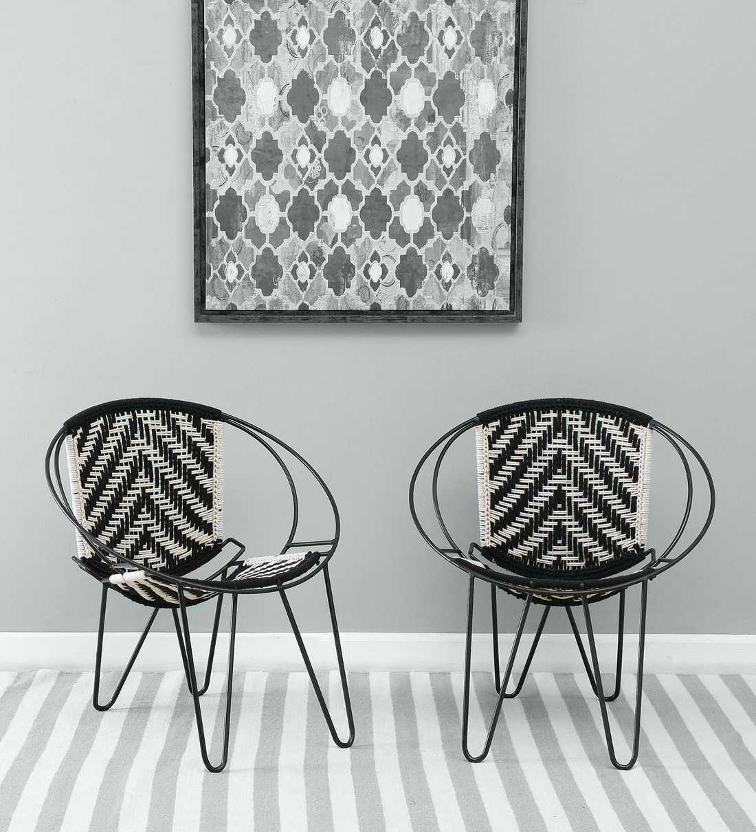 Buy Kapri Metal Patio Set Of 2 Chair Bohemiana By Pepperfry Online Lawn Chairs Chairs Furniture Pepperfry Product