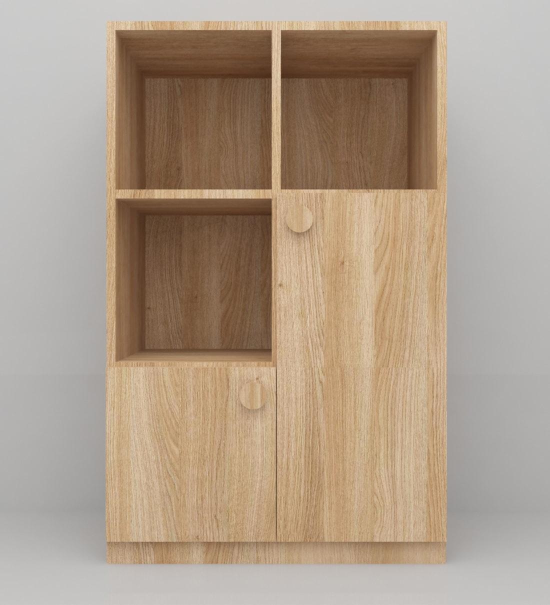 Picture of: Buy Tall Truffle Storage Cabinet In Natural Finish By Ikooji Online Kids Storage Cabinets Kids Storage Kids Furniture Pepperfry Product