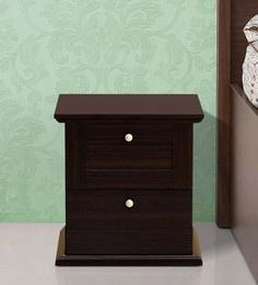 Bedside tables buy bedside tables online in india at best prices taro bed side table in walnut finish watchthetrailerfo