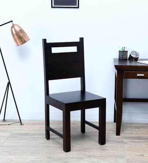 Tacoma Dining Chair In Warm Chestnut Finish By Woodsworth