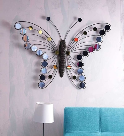 Take Me Home Handcrafted Metal Butterfly Wall Art By Importwala