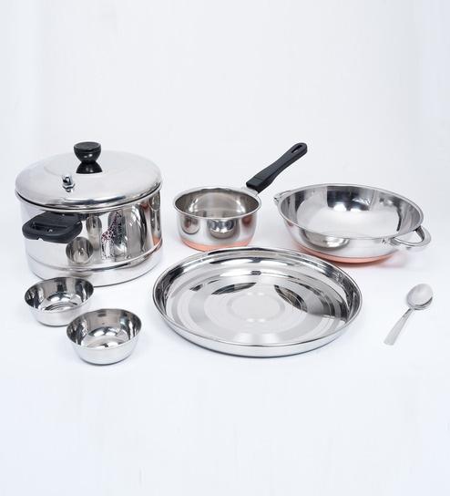 Buy Tallboy 7 Piece South Indian Mini Kitchen Set Of 5 Online