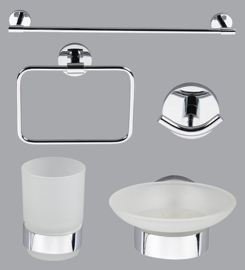 taptree bathroom accessories combo set of 5 - Bathroom Sets
