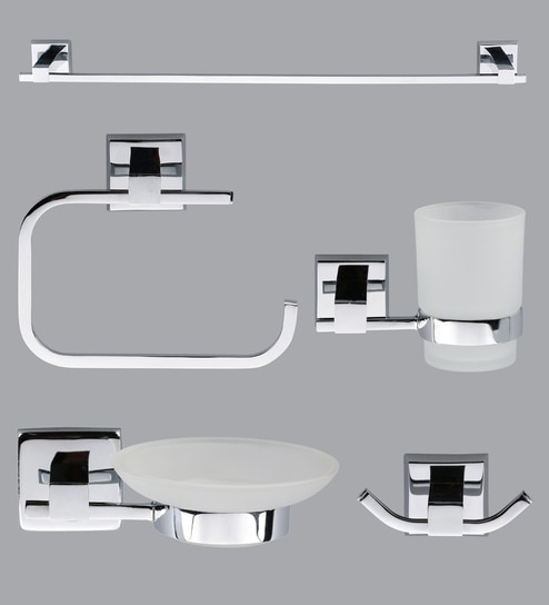 Taptree Bathroom Accessories Combo Set Of 5