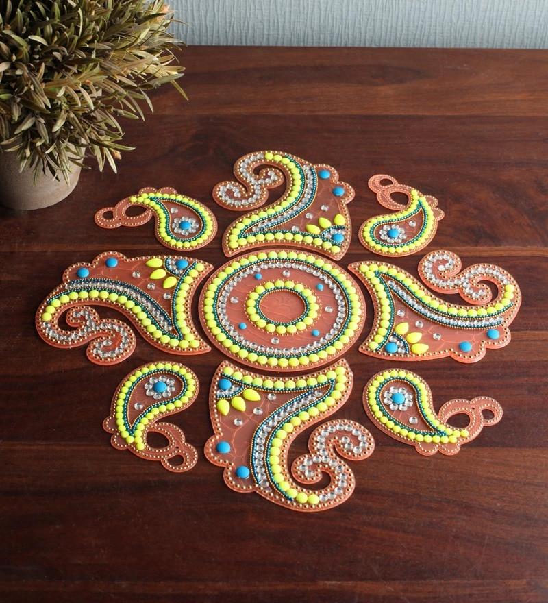 Multicolour Rangoli by Tanariri Hastakala