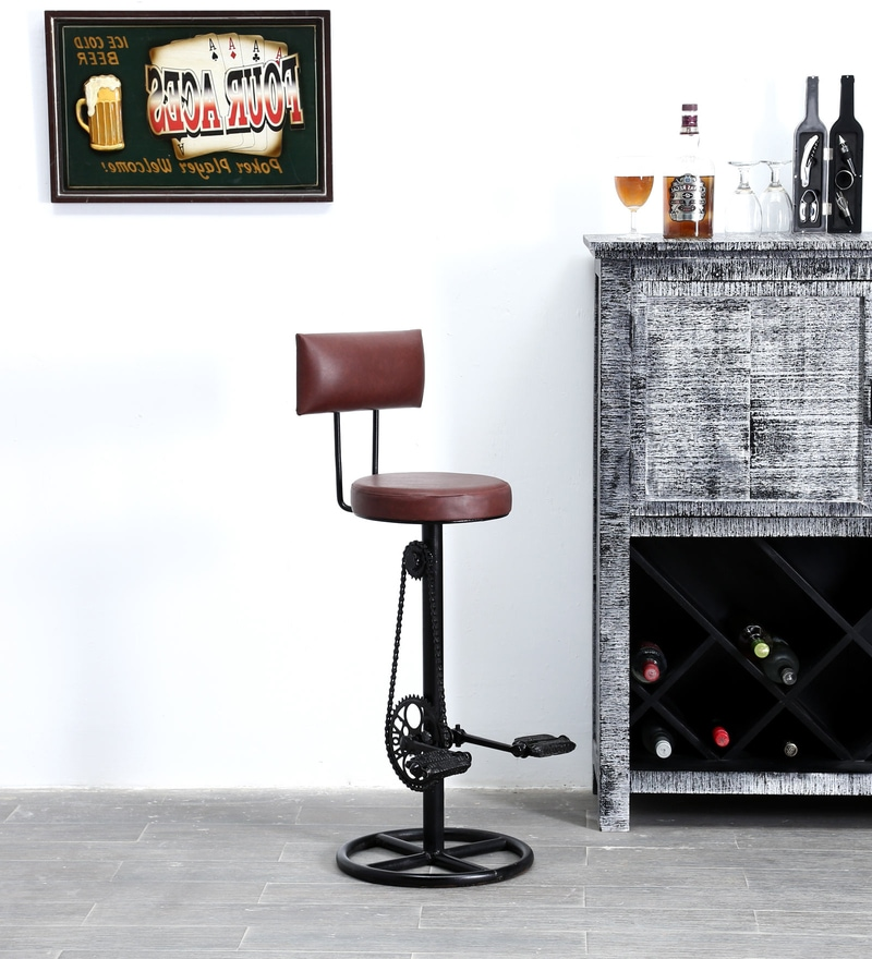 Tasiast Bar Chair in Finish by Bohemiana