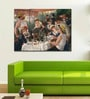 Tallenge Gallery Wrap Canvas 18 x 24 Inch Old Masters Collection Luncheon of The Boating Party by Pierre-Auguste Renoirs Framed Digital Art Prints