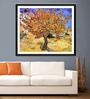 Tallenge Photographic Paper 18 x 24 Inch Old Masters Collection Mulberry Tree by Vincent Van Goghs Framed Digital Art Prints