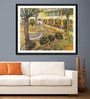 Tallenge Photographic Paper 18 x 24 Inch Old Masters Collection The Asylum Garden At Arles by Vincent Van Gogh Framed Digital Art Prints