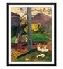 Tallenge Paper 14 x 0.5 x 18 Inch in Olden Times Framed Digital Poster