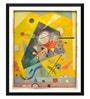 Tallenge Paper 15 x 0.5 x 18 Inch Wassily Kandinsky Silent Harmony Framed Digital Poster