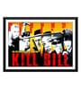 Paper 17 x 0.5 x 12 Inch Hollywood Collection Kill Bill Subway Poster Framed Digital Poster by Tallenge
