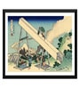 Tallenge Paper 17 x 0.5 x 12 Inch Japanese Art Woodblock Katushika Hokusai The Fuji from The Mountains of Totomi Framed Digital Poster
