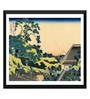 Tallenge Paper 17 x 0.5 x 12 Inch Japanese Art Woodblock Katushika Hokusai The Fuji Seen from The Mishima Pass Framed Digital Poster
