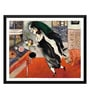 Tallenge Paper 18 x 0.5 x 14 Inch Marc Chagall Birthday Framed Digital Poster