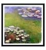 Tallenge Paper 18 x 0.5 x 18 Inch Claude Monet Nympheas Framed Digital Poster