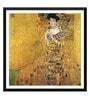 Tallenge Paper 18 x 0.5 x 18 Inch Gustav Klimt Adele Bloch Bauer I Framed Digital Poster