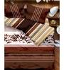 Tangerine Desert Safari Double Bed Quilt