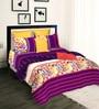 Tangerine Aquacado Multicolor Cotton 108 x 90 Inch Comforter