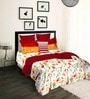 Tangerine Scarlet Sunset Red Double Comforter