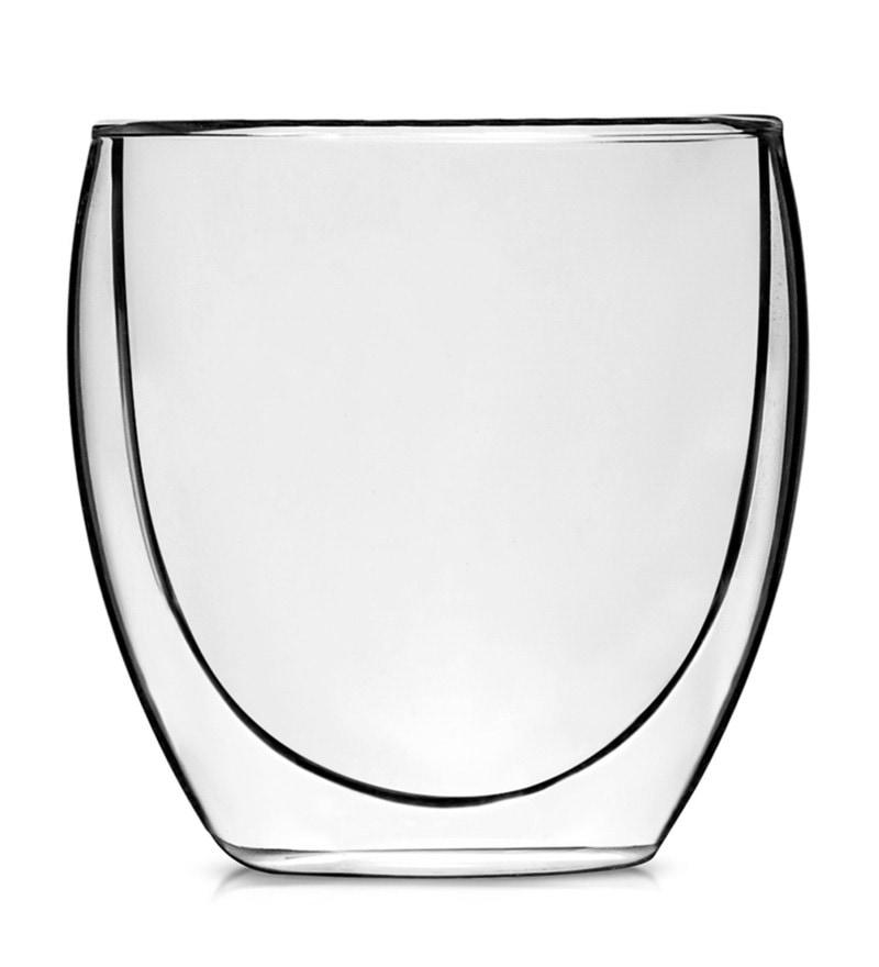 Teabox Valencia Borosilicate Glass 250 ML Doublewalled Teacup