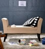 Toston Settee in Cream Colour by Woodsworth