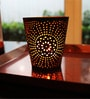 Black & Gold Iron Votive Tea Light Holder - Set of 2 by Tezerac