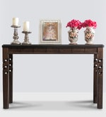 Thames Console Table in Brown Colour