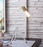 Gold Iron Table Lamp