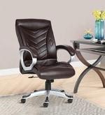 The Estrella Executive High Back Chair in Brown Colour