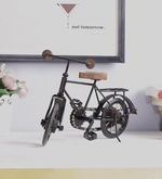 Black & Brown Mango Wood & MDF Jodhpuri Antique Bicycle