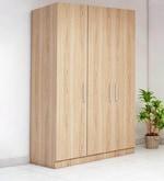 Three Door Wardrobe in Swiss Elm Finish in MDF