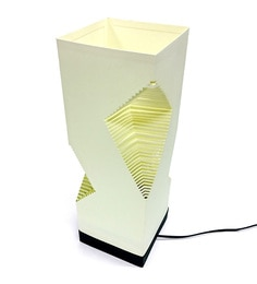 The Light Box Off White Paper Christmas Lamp Shade
