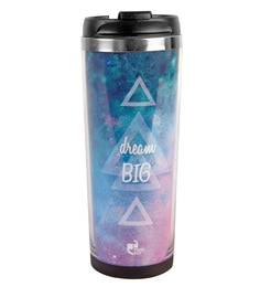Thinkpot Dream Big Premium Multicolour Stainless Steel 450 ML Sipper