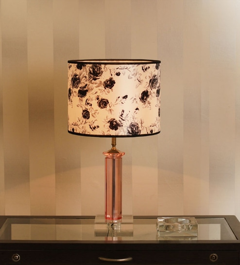 The 7th Galaxy Crystal Pink Table Lamp By The 7th Galaxy Online