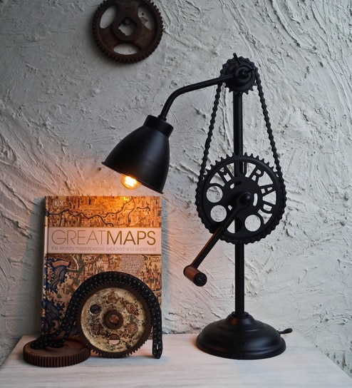 Buy Black Iron Table Lamp By The Black Steel Online Filament Table