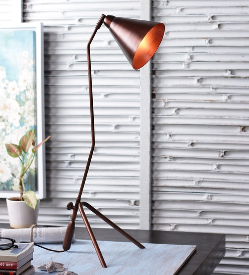 Buy copper iron table lamp by the brighter side online copper iron table lamp by the brighter side mozeypictures Gallery