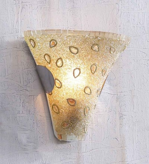 Single Shade Uplighter Wall Mounted Light by The Brighter Side