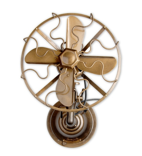 The Fan Studio Designer Antique Bronze Wall Mounted