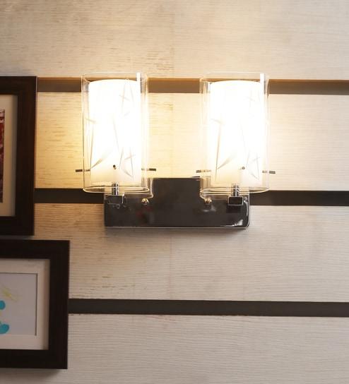 Kapoor E Illuminations Chrome Mild Steel Wall Mounted