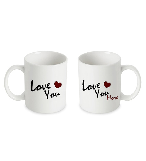 dc69f30d02b Buy Ceramic 250 ML Mug- Set of 2 by The Purple Tree Online - Slogan ...