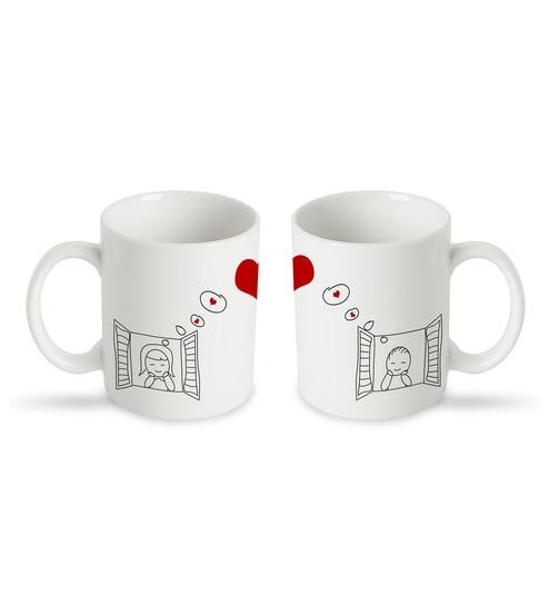 6b479a9dd8d Buy Ceramic 250 ML Mug- Set of 2 Online - Slogan Mugs - Mugs ...